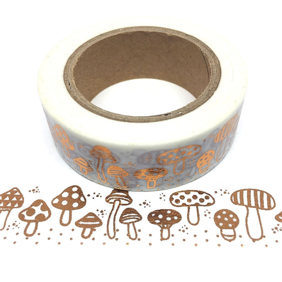 Washi Tape - Gold Mushroom - Must Love Party