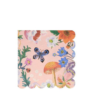 Nathalie Lete Flora Large Napkins - Must Love Party