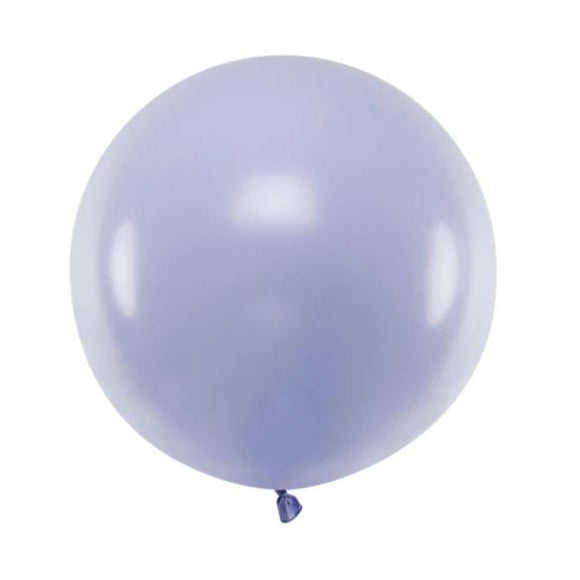 Pastel Lilac Jumbo Latex Balloon - Must Love Party