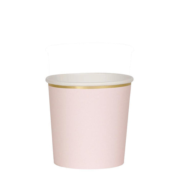 Pale Pink Tumbler Cups - Must Love Party