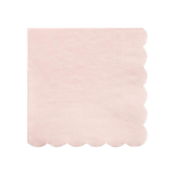 Pale Pink Small Napkins - Must Love Party