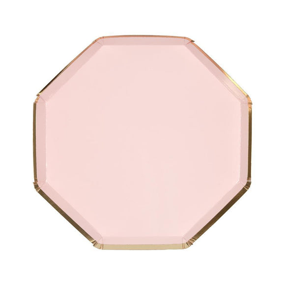 Pale Pink Side Plates - Must Love Party