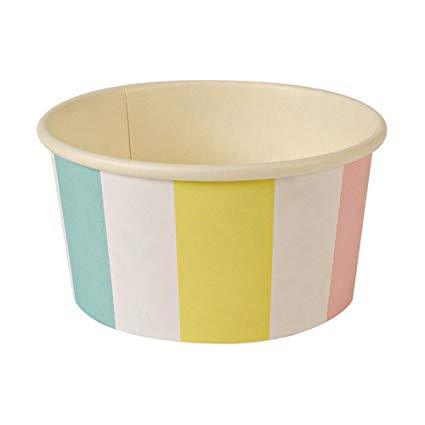 Stripe Ice Cream/Candy Cups - Must Love Party