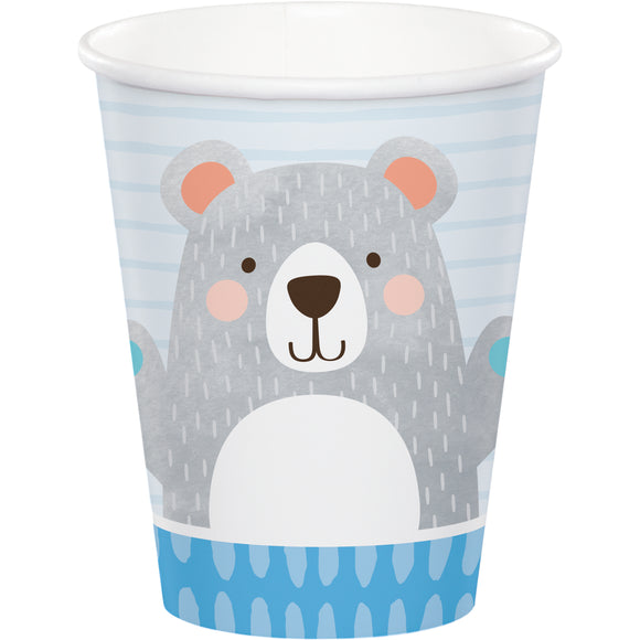 Grey Bear Cups (8) - Must Love Party