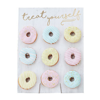 Treat Yourself Donut Wall - Must Love Party