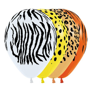 Jungle Print Balloons (4)