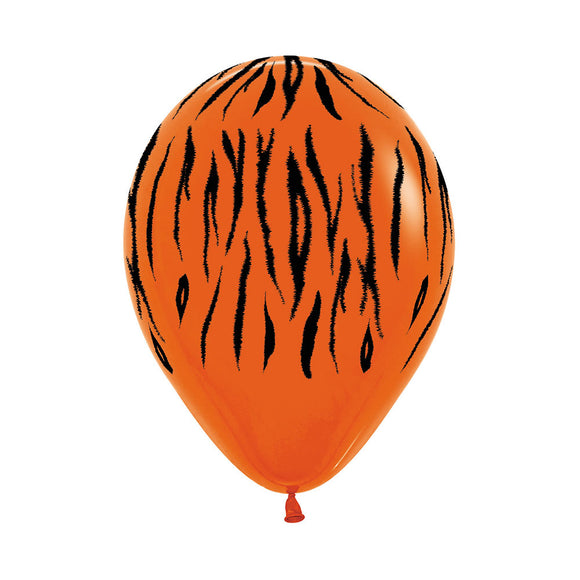 Tiger Print Balloons (3) - Must Love Party