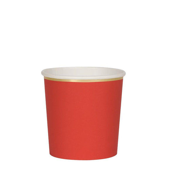 Red Tumbler Cups - Must Love Party