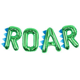 ROAR Foil Balloon Bunting