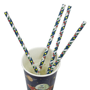 Space Adventure Paper Straws - Must Love Party