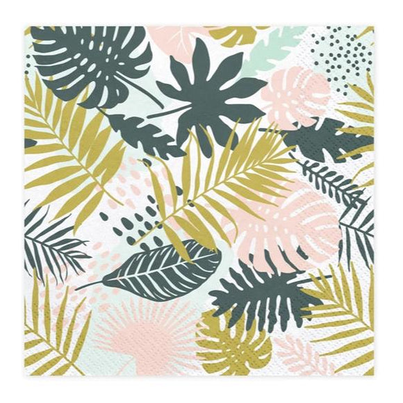 Aloha Tropical Napkins - Must Love Party