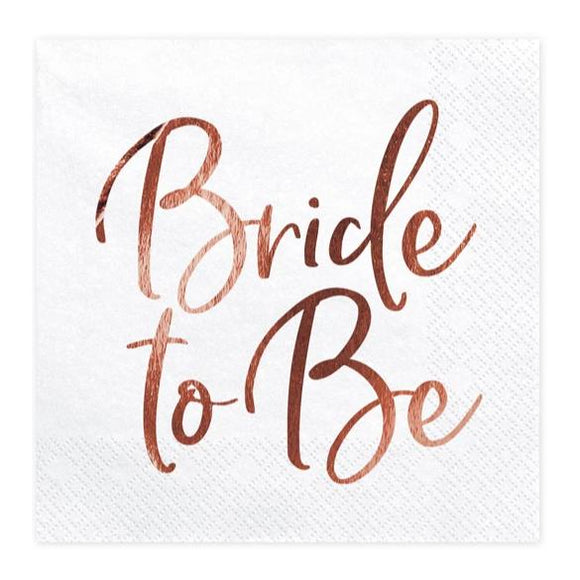 Bride to Be Napkins