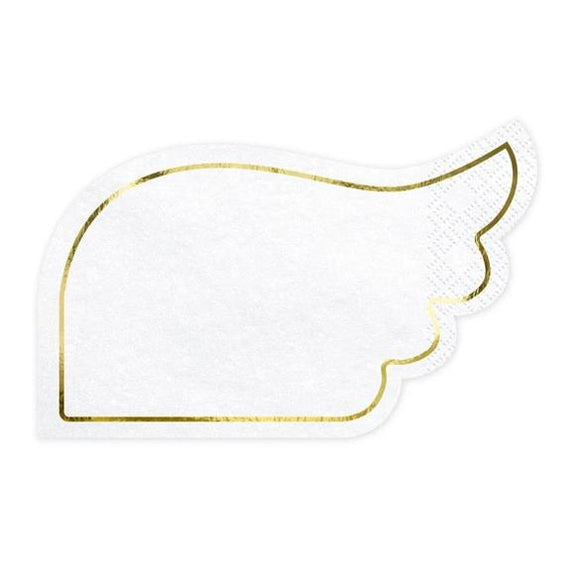 Angel Wing Napkins - Must Love Party