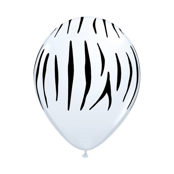 Zebra Print Balloons (3) - Must Love Party