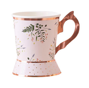 Floral Tea cup - Must Love Party
