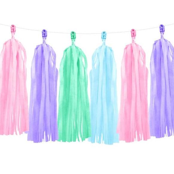 Mermaid Tassel Garland - Must Love Party