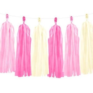 Pink Tassel Garland - Must Love Party