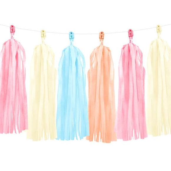 Summer Tassel Garland - Must Love Party