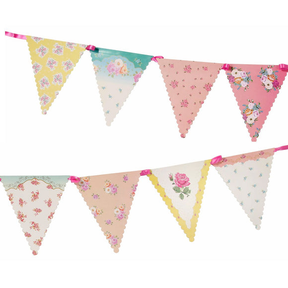 Truly Scrumptious Floral Bunting 4m