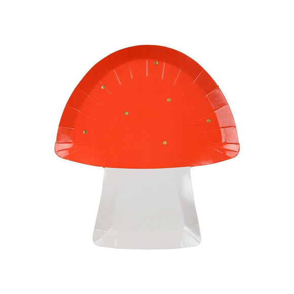 Toadstool Plates - Must Love Party