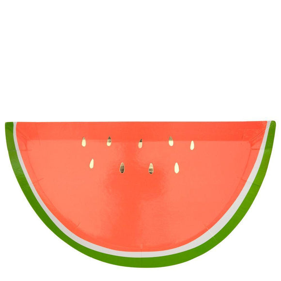 Watermelon Plates - Must Love Party