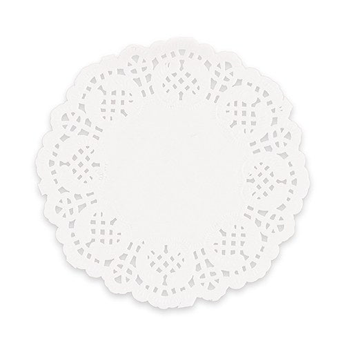 Mini White Lace Doilies - Must Love Party