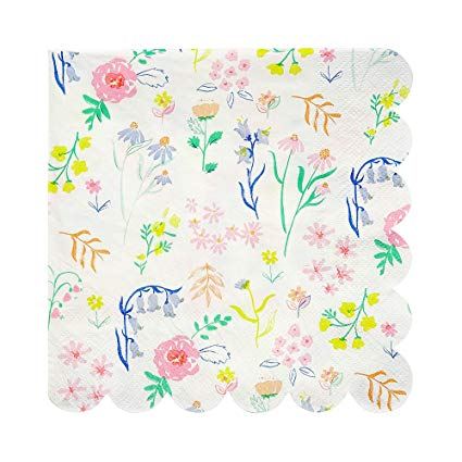 Wildflower Napkins (small) - Must Love Party