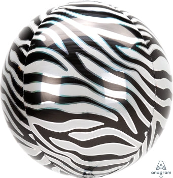 Zebra Print Orb - Must Love Party