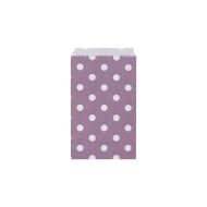 Candy Bags - Amethyst With White Dots - Must Love Party
