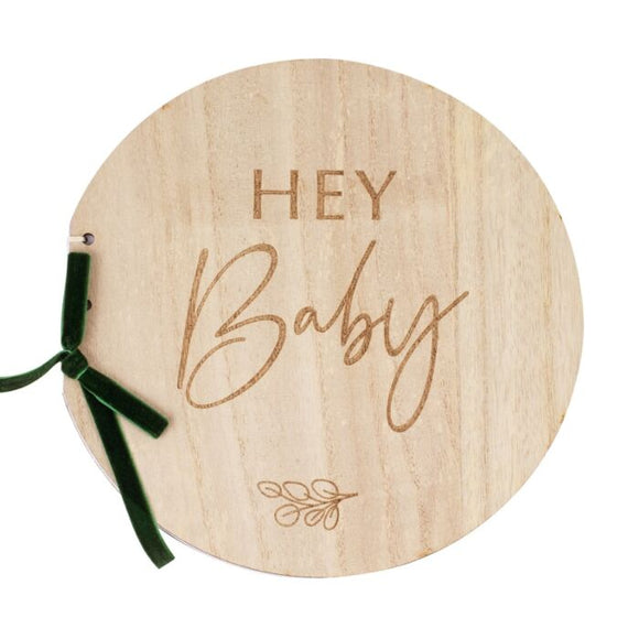 Hey Baby Guest Book - Must Love Party