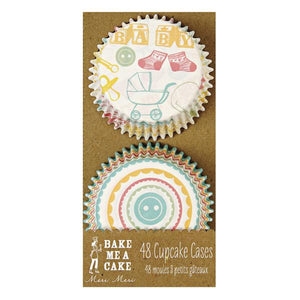 Cupcake Cases - Baby Baby Bake - Must Love Party