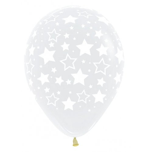 Balloons - Crystal Clear All over Star (3) - Must Love Party
