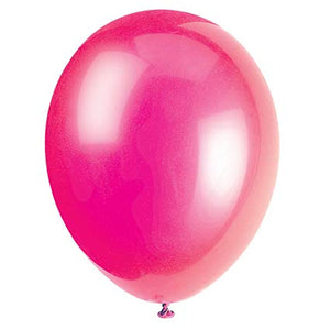 Crystal Fuchsia Balloons - Must Love Party