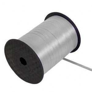 Silver Balloon Ribbon (SELECT HOW MANY METRES)