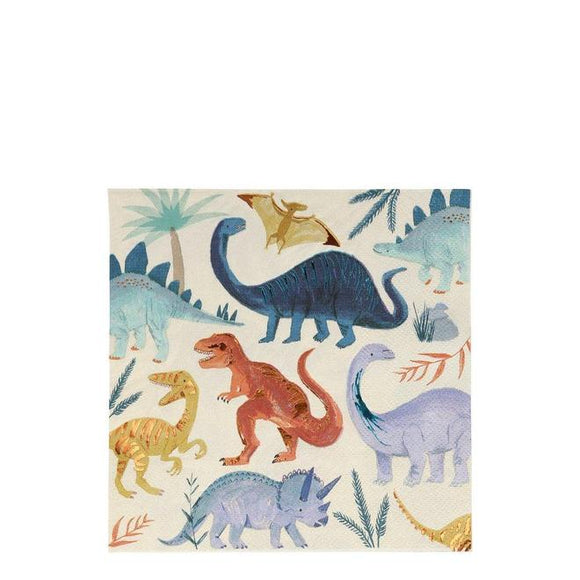 Dinosaur Kingdom Large Napkins - Must Love Party