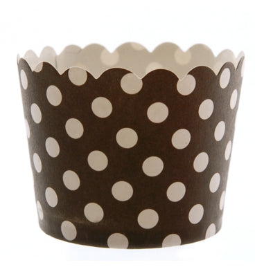 Black with White Dots Cupcake Holders - Must Love Party