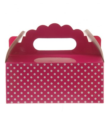 Party Boxes - Dotted Magenta - Must Love Party