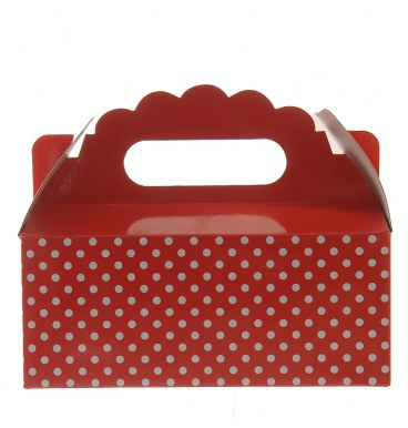 Party Boxes - Dotted Red - Must Love Party