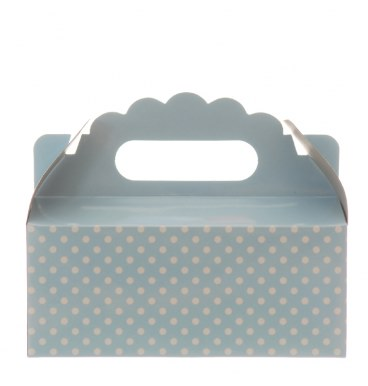 Party Boxes - Dotted Baby Blue - Must Love Party