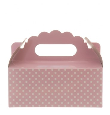 Party Boxes - Dotted Baby Pink - Must Love Party