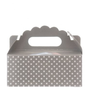 Party Boxes - Dotted Grey - Must Love Party