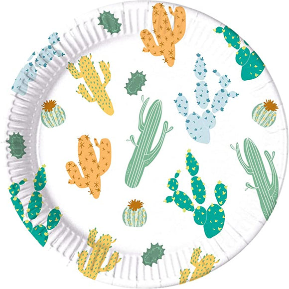 Eco Compostable Cactus Plates
