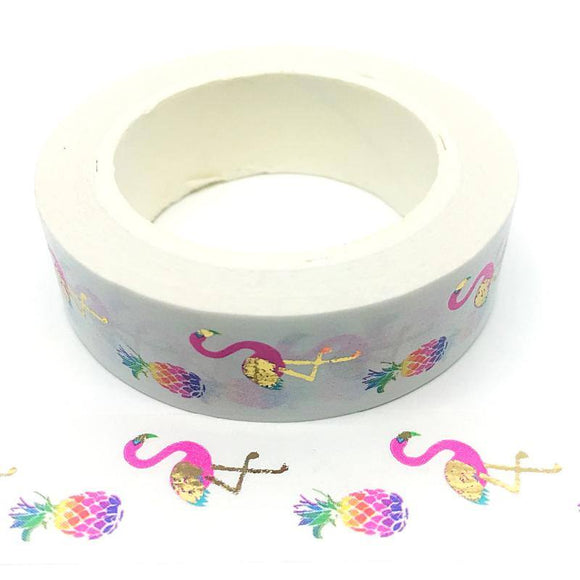 Washi Tape - Tropical Flamingo - Must Love Party