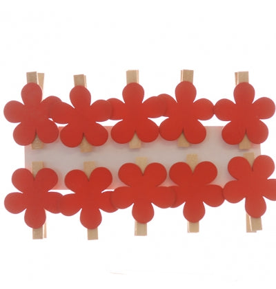 Flower Pegs - Select your colour - Must Love Party
