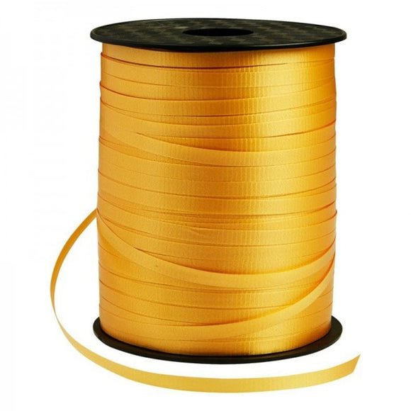 Gold Balloon Ribbons (SELECT HOW MANY METRES) - Must Love Party