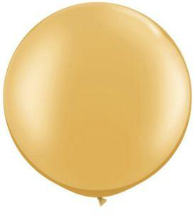 Jumbo Latex Round - Gold - Must Love Party