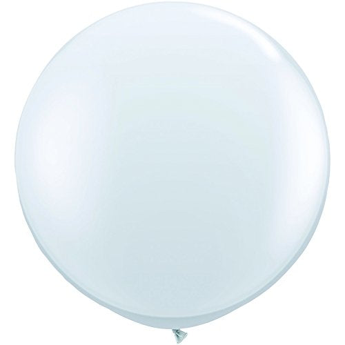 Jumbo Latex Round - Clear - Must Love Party