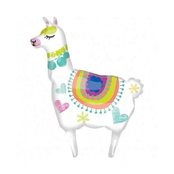 Llama Foil Balloon - Must Love Party