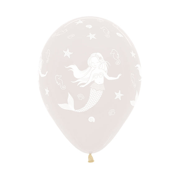 Clear Mermaid Balloons (3) - Must Love Party