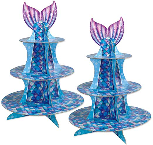Mermaid Cupcake Stand - Must Love Party